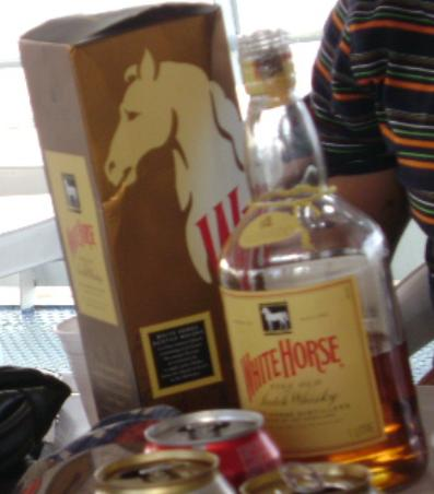 Whisky White Horse - Rio Amazonas - AM