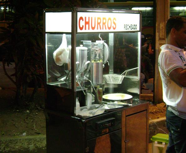 Fotos Curiosas - Churros - Muriaé - MG