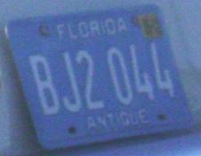 Fotos Curiosas - Placa de carro da Florida -